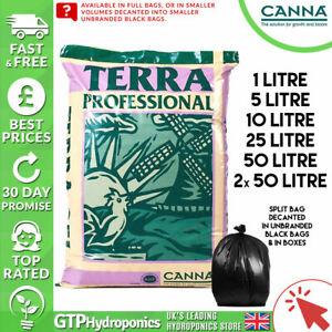 Canna Terra Professional 50L Bag x1/x2 / Decanted Split Bags 1L / 5L / 10L / 25L