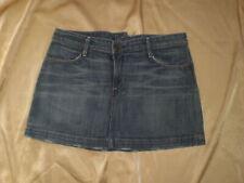 Earnest Sewn Milk Blue 3D Asym Mini Reference Fader 0.5 Denim Skirt 30