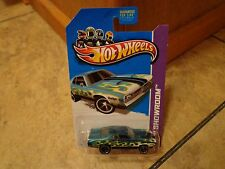 2013 HOT WHEELS SUPER TREASURE HUNT--'71 GREEN DODGE DEMON CAR (NEW)