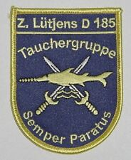 "Marine Patch Patch destructor ""Lütjens"" d185-tauchergruppe... a4640"