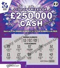 Предупреждение-очень реалистично поддельные шутка лотереи scratchcards царапина карточки смешная шутка