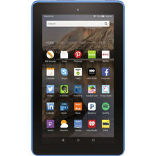 """Amazon Fire Tablet with 7"""" IPS Display, 7-Hour Battery Life & 16GB Storage, Blue"""