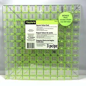 Omnigrip Square Value Pack(3 pc) NEW SEALED