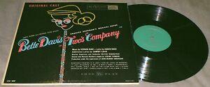 BETTE DAVIS Two's Company 1953 RCA LOC 1009 DG Green Label OG Cast Vinyl LP