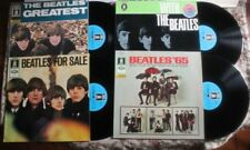 LOT BEATLES ' GREATEST / '65 / FOR SALE / WITH /LP GERMANY SERIE ODEON 1C  ...