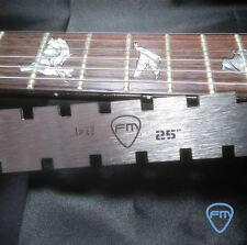 GEKERBTE GERADE KANTE for PRS Danelectro Jaguar Mustang Gitarre Hals WERKZEUG