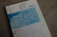 DEUTZ 912 913 Diesel Engine Repair Shop Service Manual book overhaul