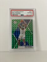Eric Paschall 2019 Panini Mosaic #250 Green Prizm Rookie PSA 10 Gem Mint POP 3