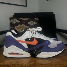Mens Vintage Rare NIKE AIR TAILWIND 92 ORANGE BLAZE 2008 Trainer White US11/UK10