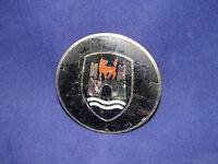 VW Beetle Hood Crest Emblem Rare Vintage Antique Metal