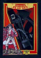 3-tlg Zorro Set Augenmaske Holster Peitsche Rächer Zorromaske Domino 1293604-213