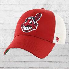 47 Brands Basecap Cleveland Indians rot weiss Cap Hat Kappe Haube Capi Baseball