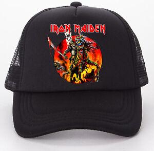 Iron Maiden Japan 2011 Tour Baseball Trucker Cap