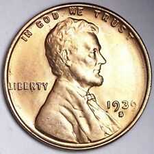 UNCIRCULATED 1939-S Lincoln Wheat Cent Penny FREE SHIPPING