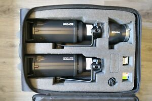 Bowens GM 750 pro kit. BOXED in mint condition. Very low use, 750 fires or less.