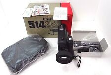 Canon Canosound 514XL-S Super 8 Video Film Movie Camera Macro Zoom Parts Repair