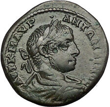 ELAGABALUS 218AD Marcianopolis NEMESIS Authentic Ancient Roman Coin  i50993