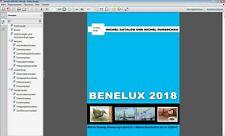 MICHEL Benelux 2018 Belgium Luxembourg Netherlands catalog in P.D.F