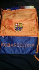 FC Barcelona  Drawstring Cinch Bag New
