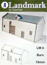 Landmark by Timecast LM8 - Barn - Normandy Range 15mm Scale T48 Post