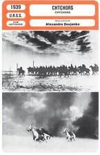 CHTCHORS - Aleksandr Dovzhenko (Fiche Cinéma) 1939 - Shors