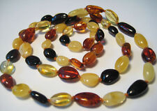 Real  BALTIC  AMBER Necklace  67cm, 26.3""