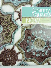 CROCHET PATTERN BOOK- Granny Squares NOW- Susan Cottrell -Yarn/Wool