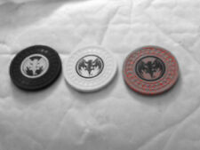 (3) Bacardi Bat Logo Poker Chips.....3 Colors....NEW