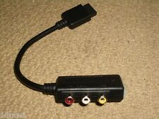 SONY PLAYSTATION 1 2 PS1 PS2 G-Con AV OUT ADAPTER CABLE Audio Video Output