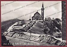 PARMA MASSA PASSO DELLA CISA 04 SANTUARIO - NEVE Cartolina FOTOGR. viagg. 1959