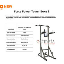 GetFit FORCE POWER TOWER BOXE 2 Torretta Multifunzione Corpo libero GARANZIA ITA