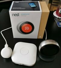 Nest Learning Thermostat 3rd Generation - Stainless Steel With Stand & Receiver