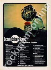Ocean Colour Scene plus The Real People LP Tour Advert