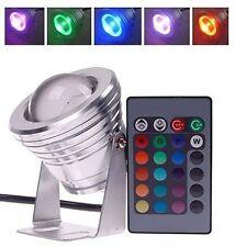 4x Waterproof RGB LED Flood Spot Light Outdoor Garden Bulb Lamp 16 Color Change