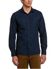 G Star RAW RADAR Shirt L/S, Sapphire Blue, Size M BNWT $135