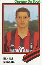 181 DANIELE MASSARO ITALIA AC.MILAN STICKER CALCIO 89 EUROFLASH