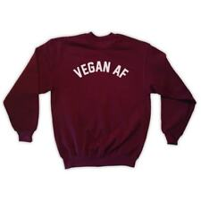 VEGAN AF SWEATSHIRT - UNISEX - VEGETARIAN PLANTS ARE FRIENDS VEG GIFT HIPSTER