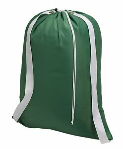 """Backpack Laundry Bag - Durable Nylon Material - Two Shoulder Straps - 22"""" X 28"""""""