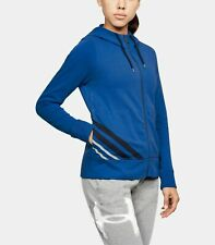 Under Armour UA French Terry Full Zip Women's Hoodie 1316115-984 Large NWT $60