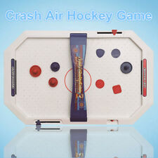 Electric Crash Air Hockey Game Tabletop Funny Parent-child Interactive Toy Gift