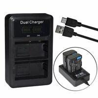 DMW-BLF19 BLF19e BLF19PP Battery chargr for Lumix DC-G9, DMC-GH3, DMC-GH4 DC-GH5