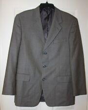 Men's JONES NY 3-Button Sportcoat/Blazer Brown/Black Interweave - 40 Reg