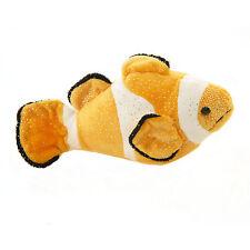 """Douglas Cuddle Toy 10"""" Orange Bobo Clown Fish Kohair Sparkle Plush Toy 3735 NWT"""