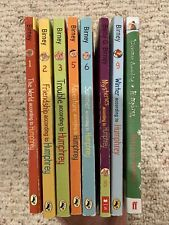 LOT OF 8 CHILDREN'S BOOKS IN HUMPHREY THE CLASS PET SERIES BY BETTY BIRNEY