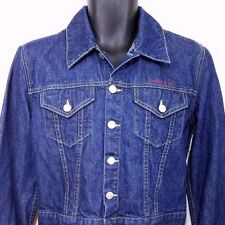 Tommy Hilfiger Jeans Womens Denim Trucker Jacket Vtg 90s Tommy Girl Size Large