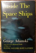 GEORGE ADAMSKI Inside the Space Ships - RARE 1955 HB/DJ 1st Ed Abelard-Schumam