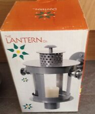 2 X Brand New Boxed  Garden and patio Contemporary Wall Mounted Lantern