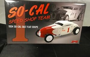 1:18 GMP 1934 SO-CAL SALT FLAT COUPE SPEED Limited Edition BNIB