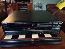 Sony Compact CD Player CDP-C8ESD ES  Vintage