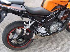 Hyosung GTR650 / GT650 COMET Black GP PRO RACE MTC Exhaust